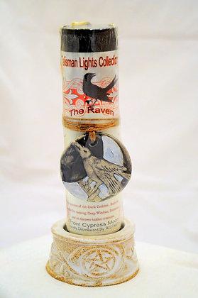 Raven Talisman Lights™ Amulet Pillar Candle