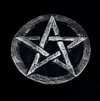 Medium Pentacle Altar Disk set