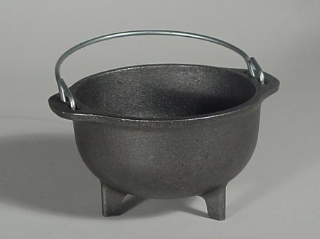 "5"" Cast Iron Cauldron"
