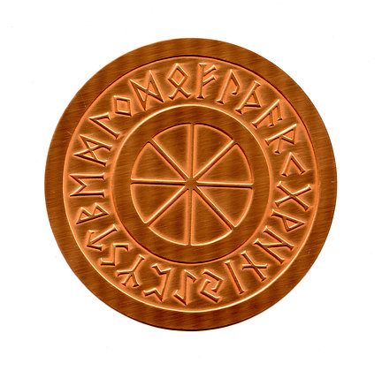 Rune Wheel Altar Patens