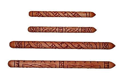 Tara Hill Rune Wands