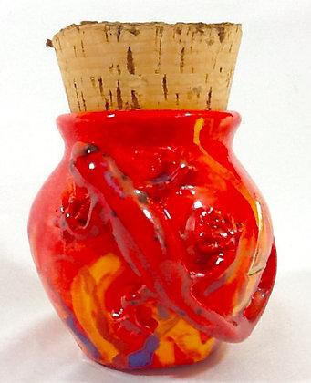 Elemental Fire Corked Treasure Jar