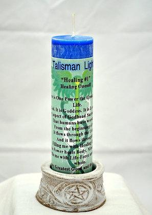 Healing Talisman Lights™ Candle