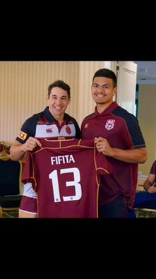 Dave Fifita Billy Slater