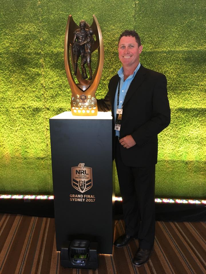 SD NRL trophy