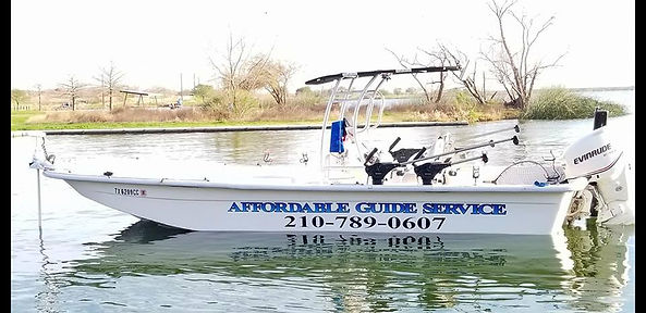 Affordable Guide Fishing boat
