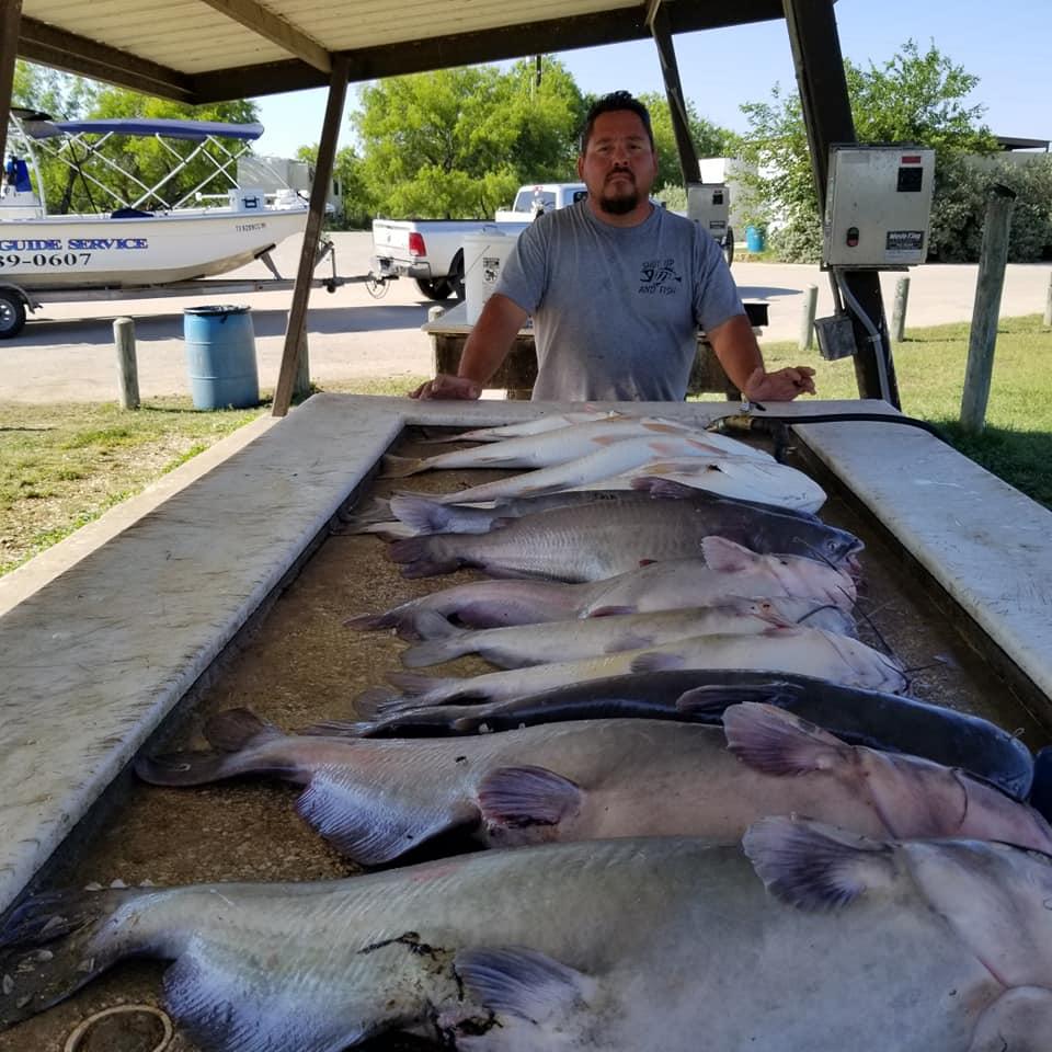 FISHING IN TEXAS-CHOKE CANYON