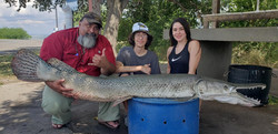 Gator Gar caught on Rod n' Reel