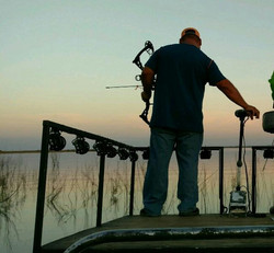 BOWFISHING AT CHOKE CANYON