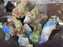 Bonanza Mine opals Virgin Valley