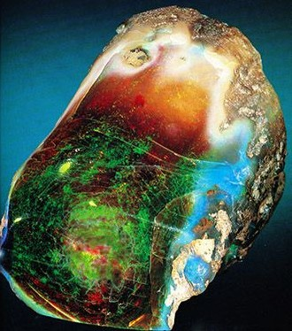 Virgin Valley Opal from Nevada
