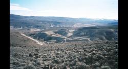 Bonanza Opal Mine workings 2004