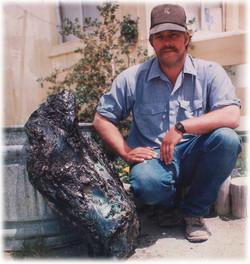 Walt Wilson with 130 lb Opal!