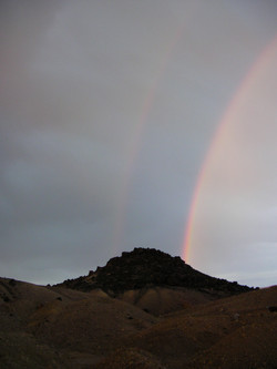 Double Rainbow at Virgin Valley NV