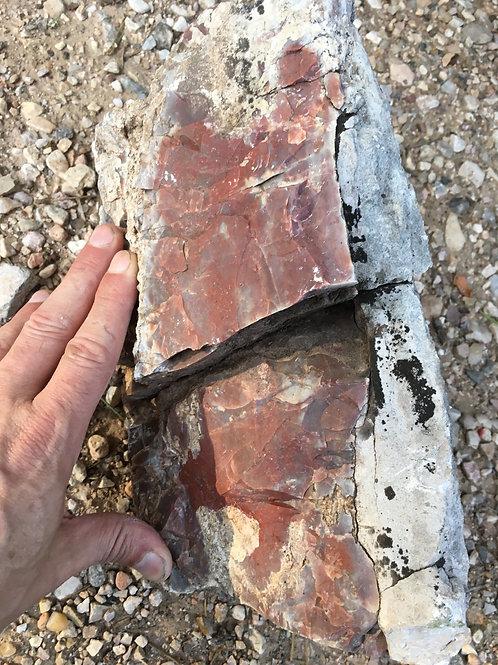 Paha Sapa Jasper, Teepee Canyon Agate Mines, Black Hills South Dakota