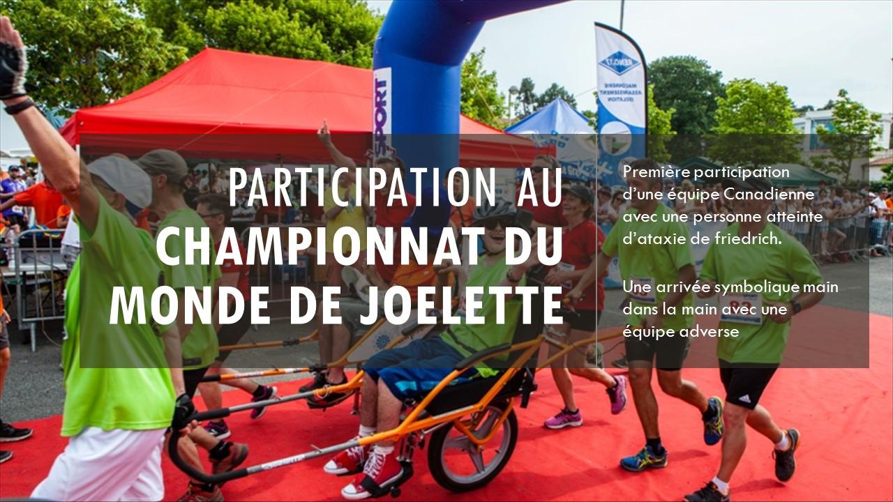 Championnat du monde de Joelette