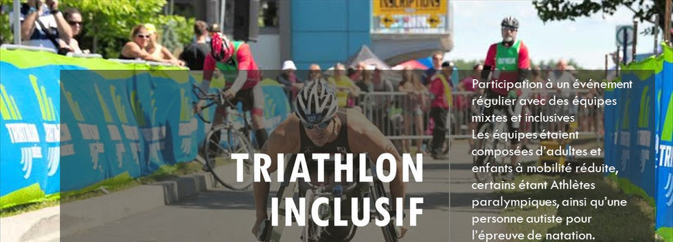 Triathlon inclusif
