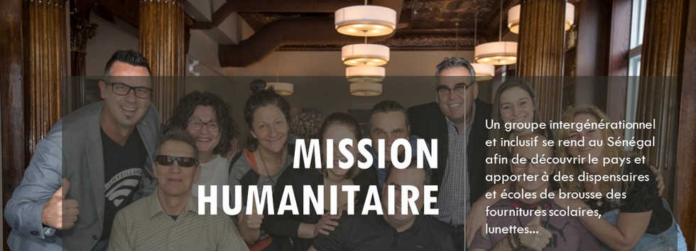 mission humnitaire senegal