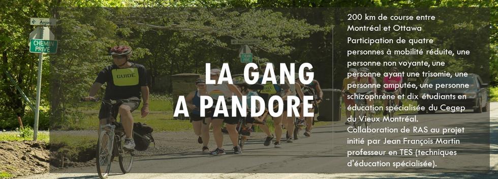 La gang a Pandore