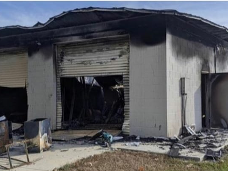Bay Area Sand Sharks lose equipment in storage shed fire