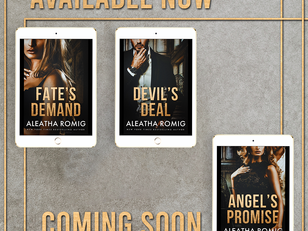 ANGEL'S PROMISE is almost here