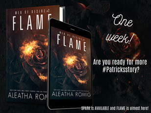 FLAME is coming to you in ONE week!