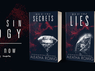 💎💎The ENTIRE Web of Sin trilogy is NOW LIVE (ebook, paperback, AND audible!)💎💎