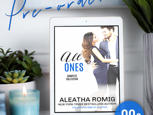 "Cover Reveal - Surprise release ""All ONES"""