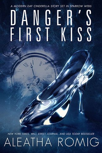 Danger's First Kiss E-Book Cover smaller