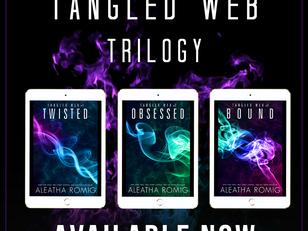 The ENTIRE Tangled Web Trilogy is LIVE!