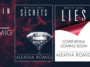 COVER REVEAL - SECRETS - Web of Sin Book #1