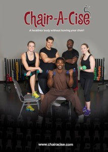 """Bad Knees"" but want High Intensity Quick Weight Loss DVD program? Try Chair-A-Cise!"
