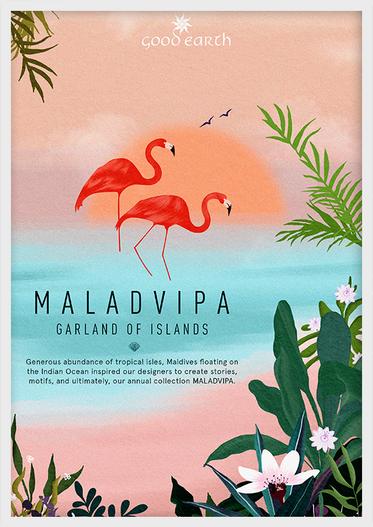 good earth   maladvipa poster design