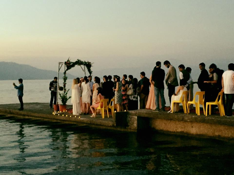 The Bob House, Wedding