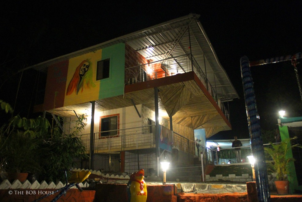 The Bob House, At Night
