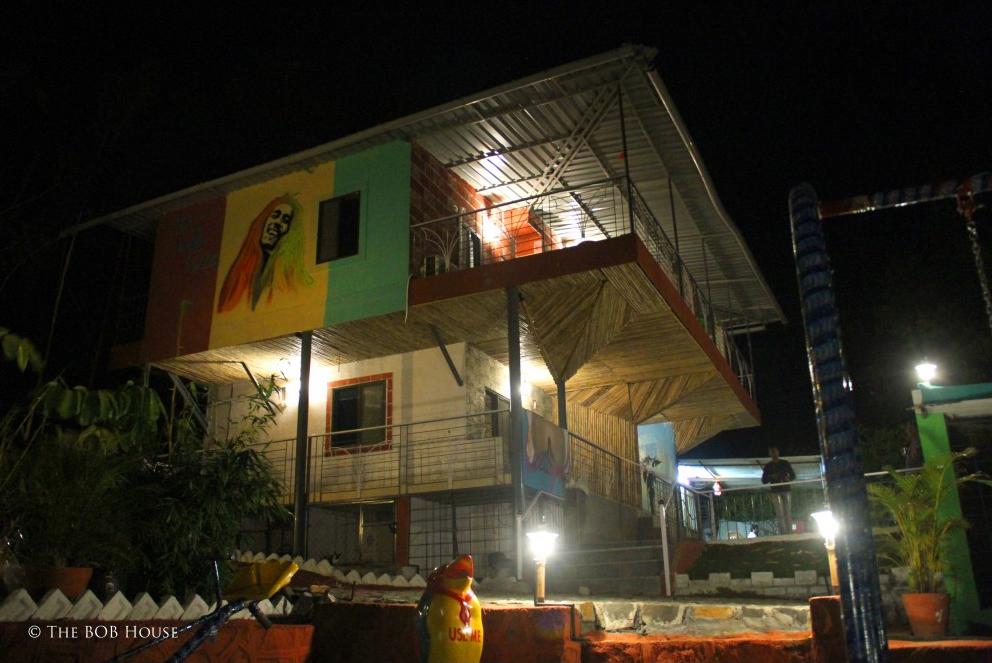 The Bob House, At Night