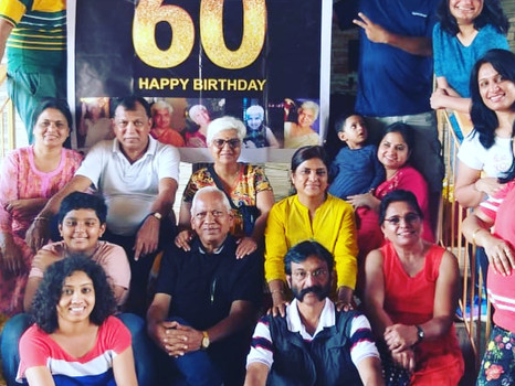 60 BIRTHDAY CELEBRATION