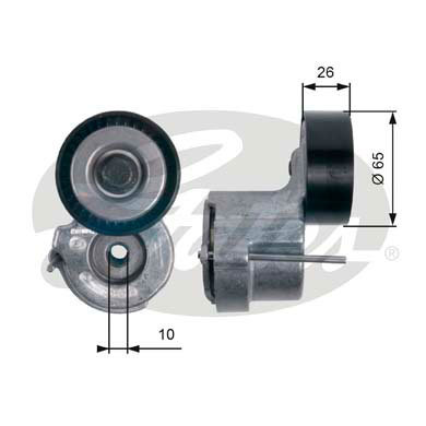 Puleggia tenditrice DriveAlign®  T39174