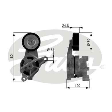 Puleggia tenditrice DriveAlign®  T38438