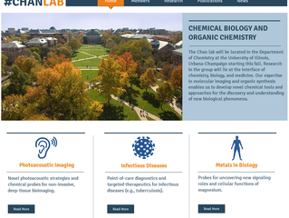 3, 2, 1 Blast off!  The #CHANLAB site is up and running!