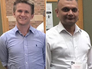 Luke and Anuj win Outstanding Poster Awards at TiMe Day 2019!