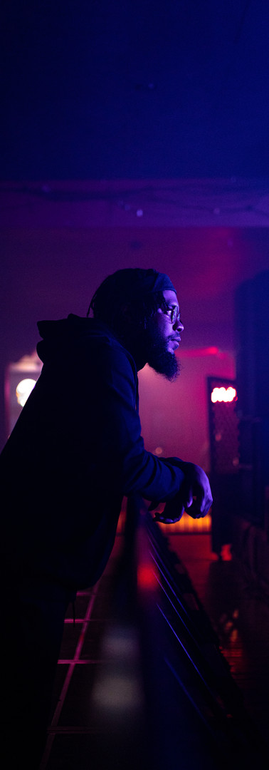 BIG K.R.I.T. / Making sure the set is right in Milwakee.
