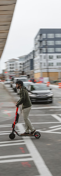 Uber / Jump Scooters