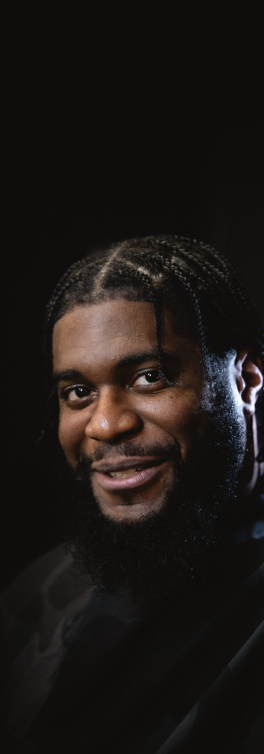 BIG K.R.I.T. / Tighten up before the show in New York.