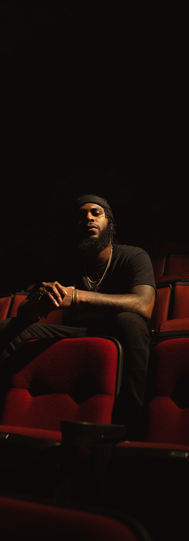 BIG K.R.I.T. / In Texas checking out the what the stage looks like from a far