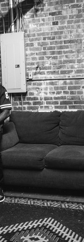 BIG K.R.I.T. / Minutes before performing in Jackson, Miss.