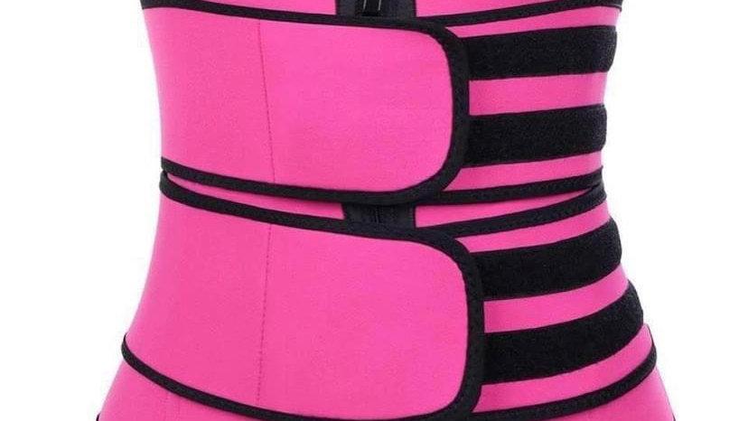 Two strap waist trainer
