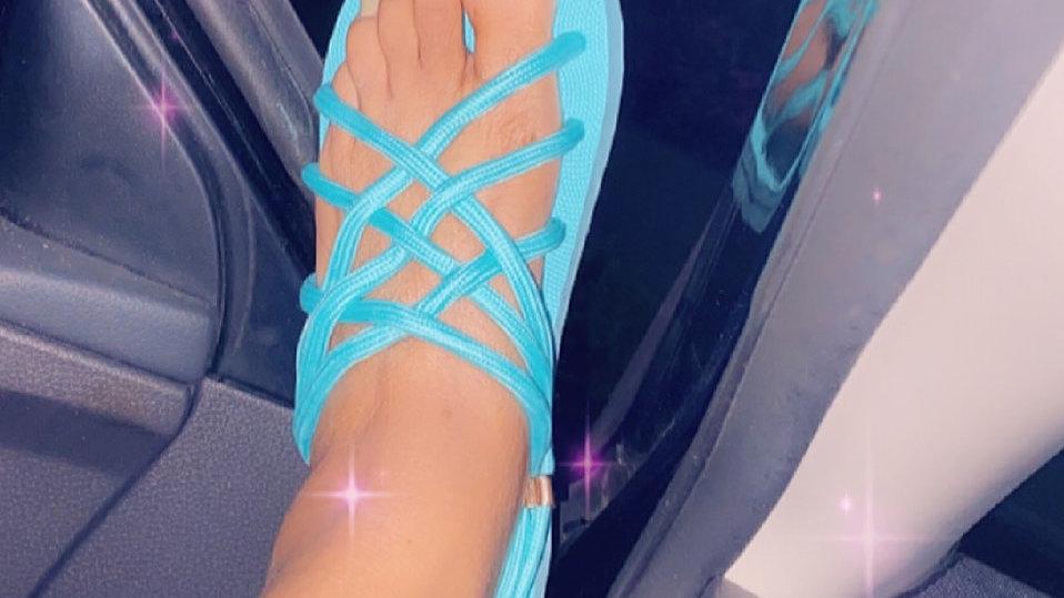 Shoe string Sandles