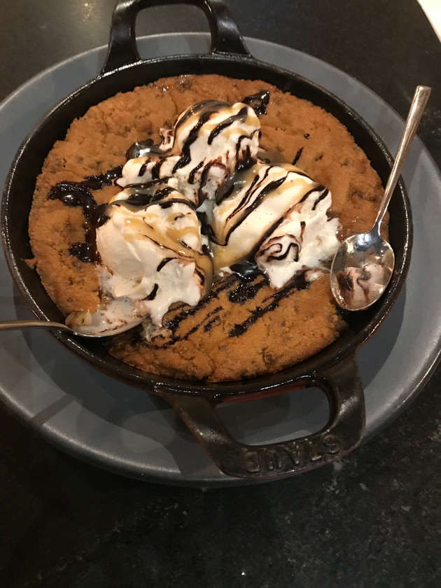 Chocolate Chip Cookie Skillet