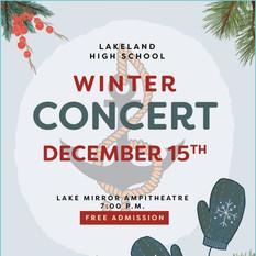 2020 Winter Concert Program